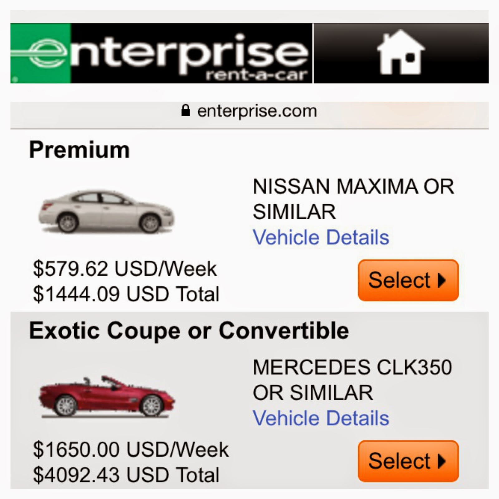 Enterprise car rental weekend coupons