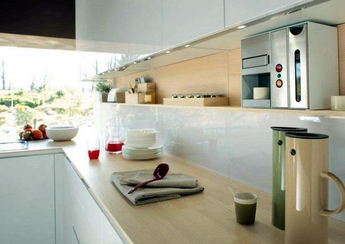 Furniture Interior Design: Orange Snaidero Kitchen