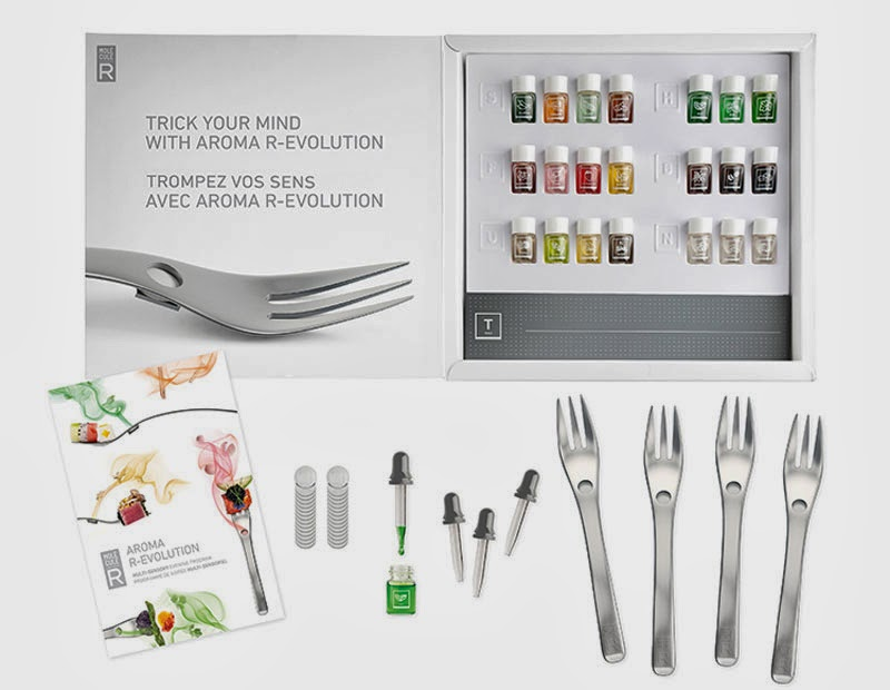 Aromafork, el tenedor dispensador de aromas