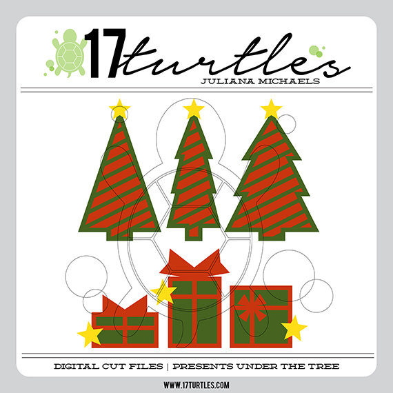 Under The Tree Digital Cut File by 17turtles - Juliana Michaels