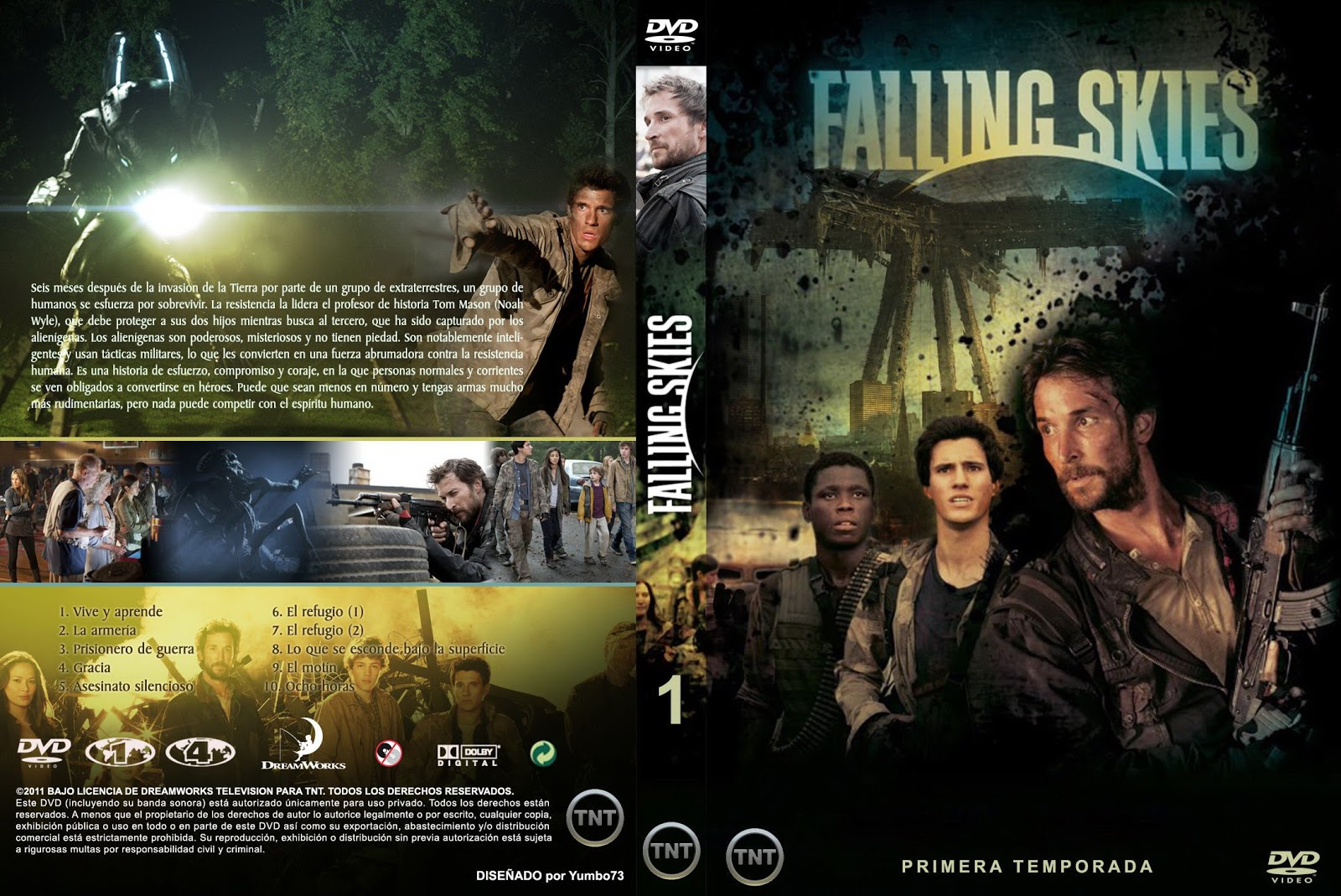 DVD - PS2 - SERIES - PROGRAMAS: Serie - Falling Skies Season 1 ( 3 ...