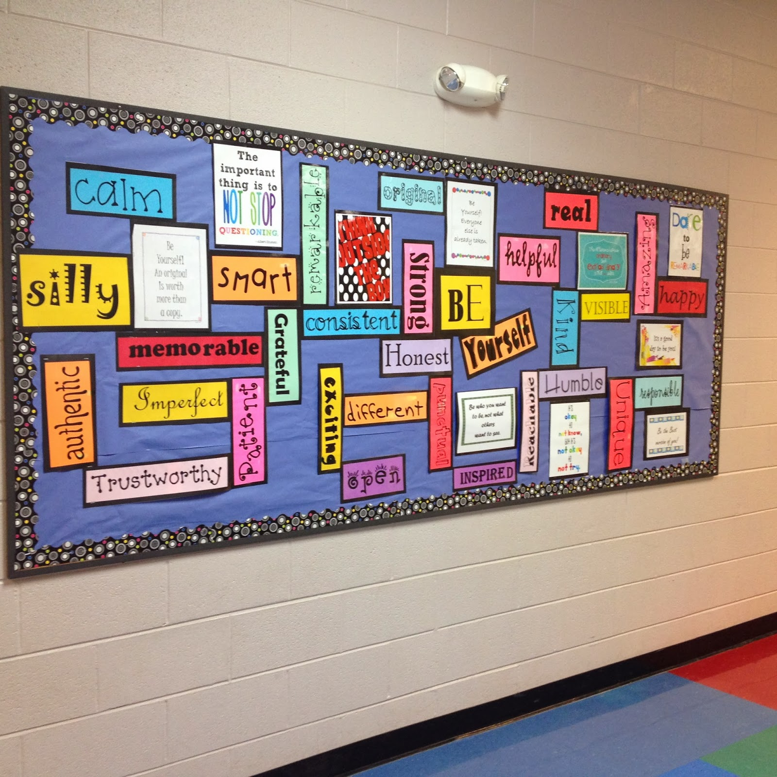 Classroom Soft Board Decoration Ideas ~ The teacher with a ponytail library bulletin board
