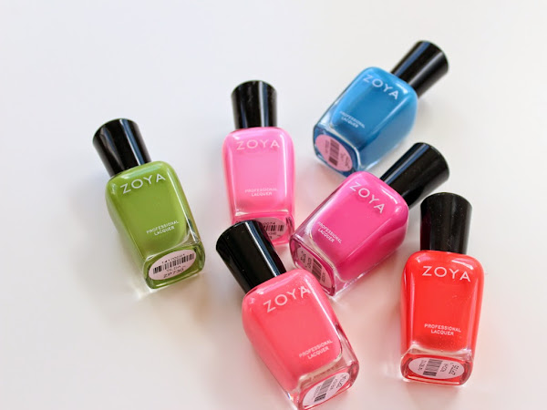 Zoya Summer 2014: Tickled Swatches