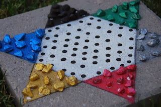 Chinese Checkers Step stones