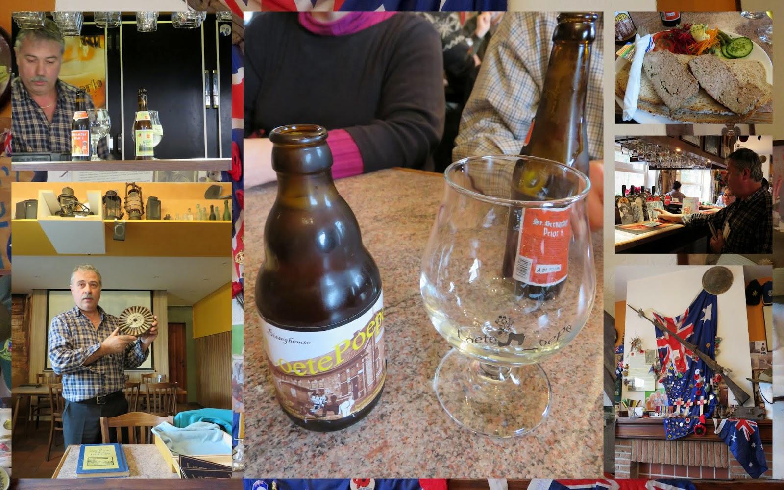Cafe Taverne de Dreve in Flanders, Belgium