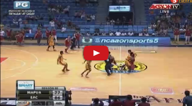 Watch Video Replay of Brawl EAC vs Mapua on NCAA Season 90