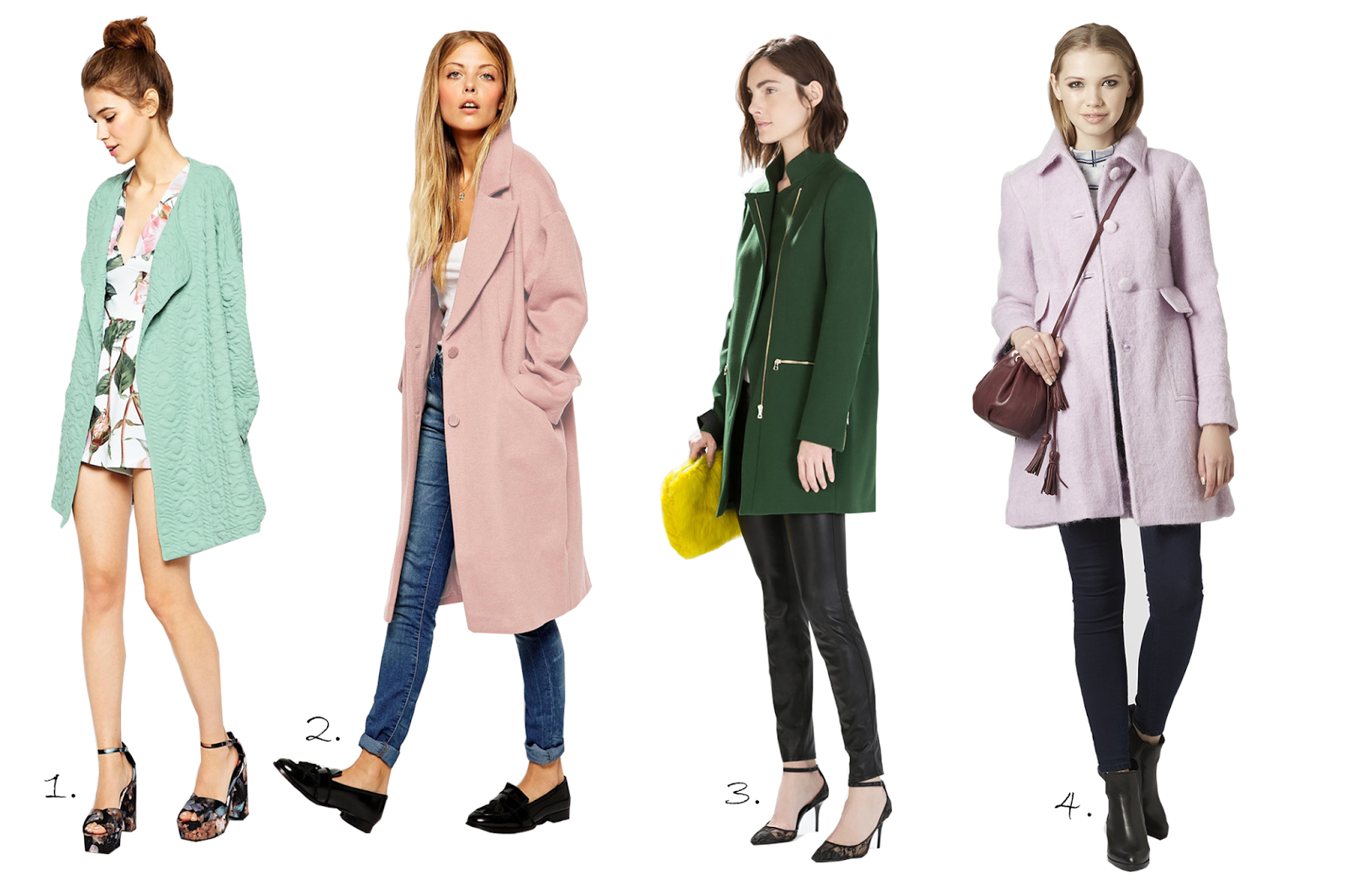 cappotti colorati 2014