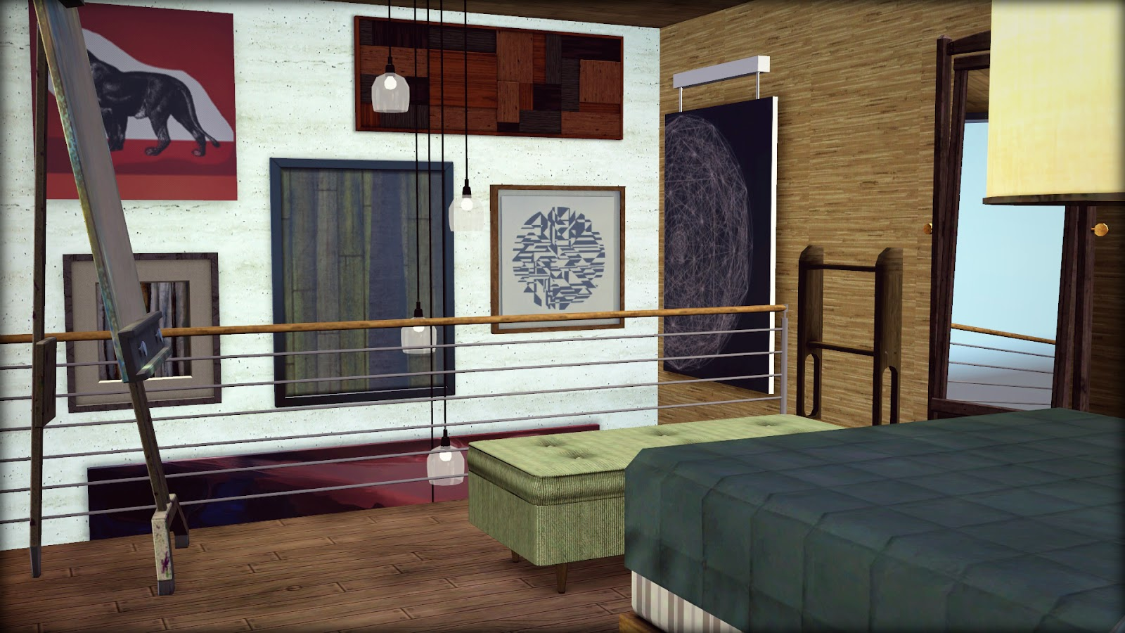 My sims 3 blog powell house by blackwaterkelpy for Powell house