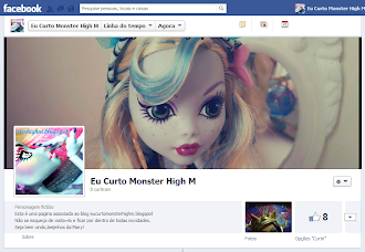 Facebook Eu Curto Monster High
