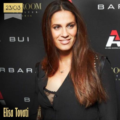 23 de marzo | Elisa Tovati - @Elisa_tovati | Info + vídeos