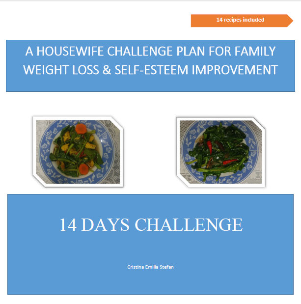 weight loss challenge, family weight loss, self-esteem improvement, healthy food, vegetables, healthy diet, daily intake food.