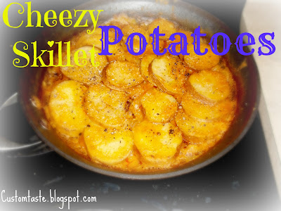(Vegan) Cheezey Skillet Potatoes by Custom Taste
