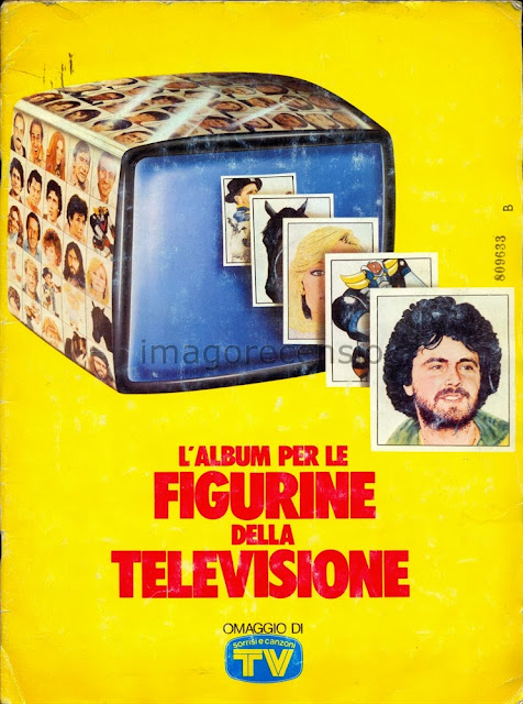 Imago recensio l album per le figurine della televisione