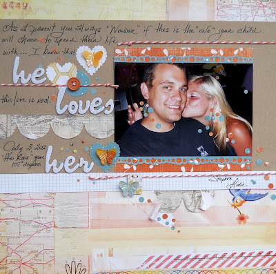 Scrapbook Design by Kimberly Archer