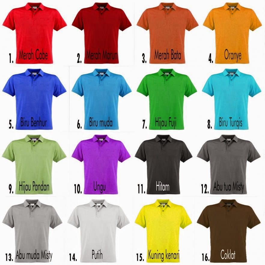 Kaos Polo Shirt Online Beli Polos Pemalang Oblong Murah