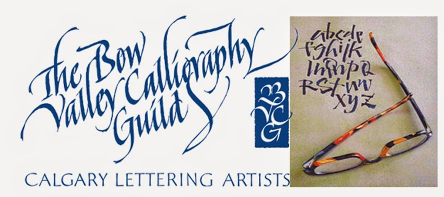 Bow Valley Calligraphy Guild Logo