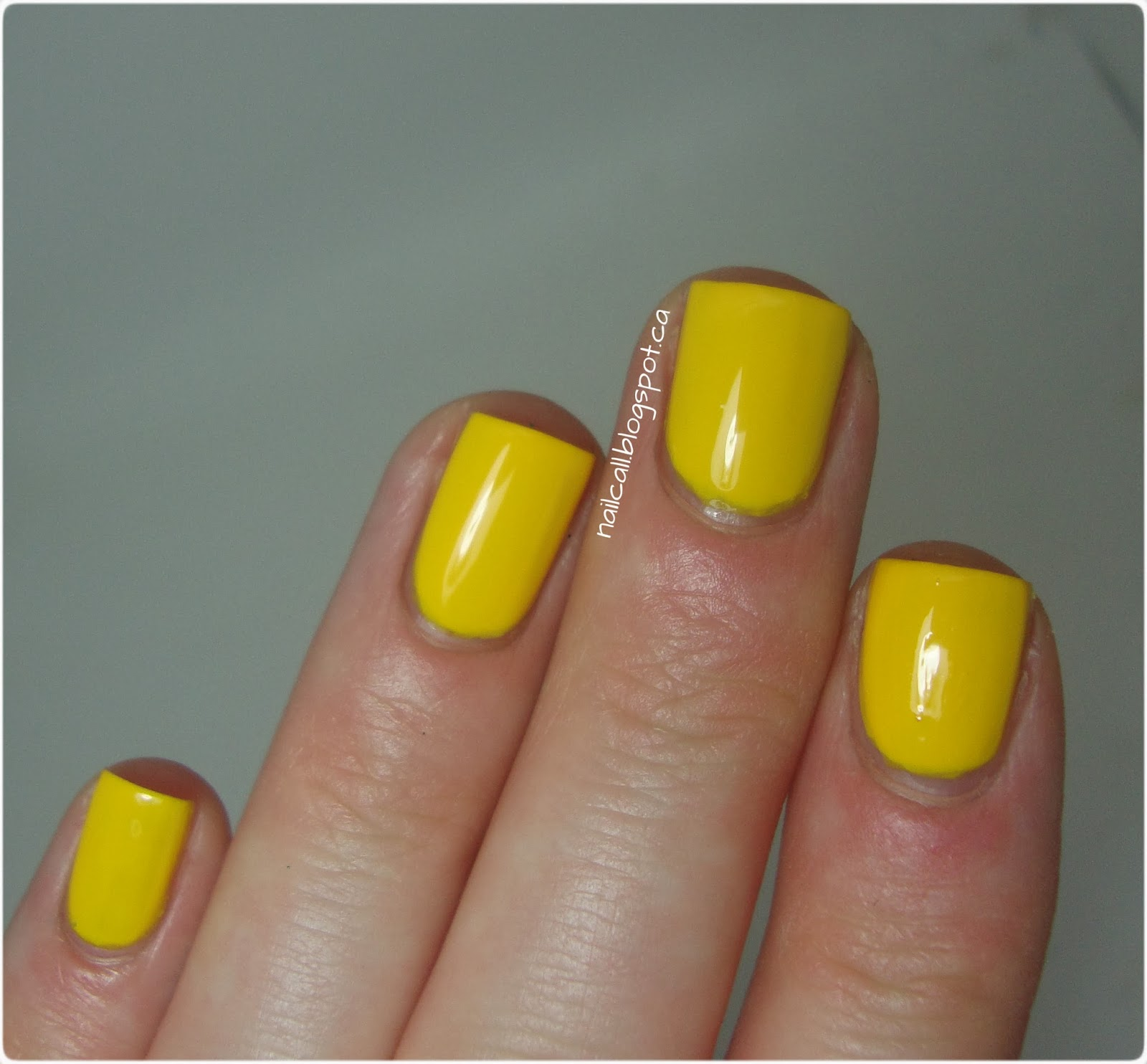 OPI Yellopalooza swatch 2