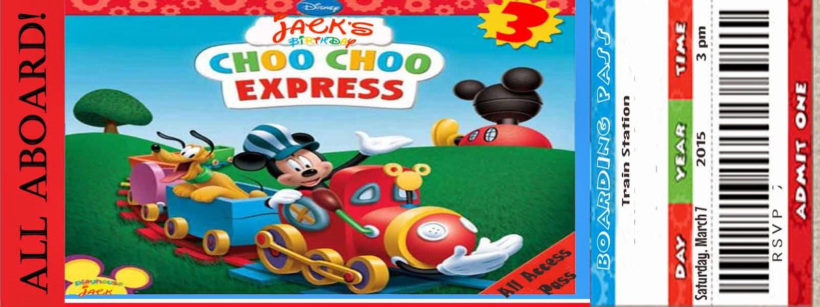 Hargrave family jacks mickey choo choo express birthday party filmwisefo