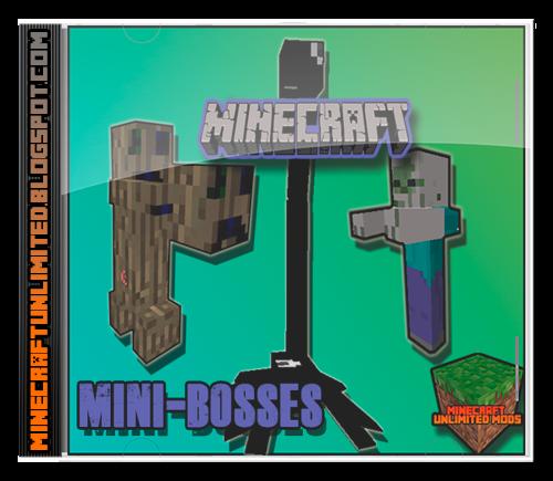 Mini-Bosses Mod Minecraft
