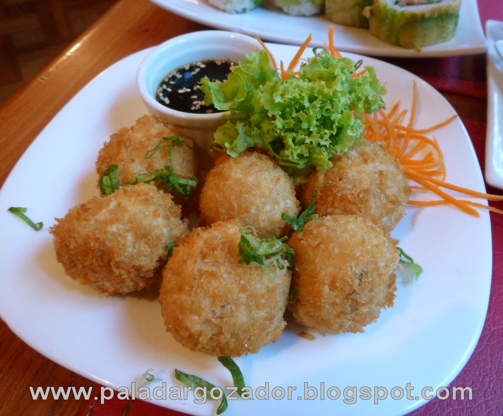 kudasaru sushi crab balls