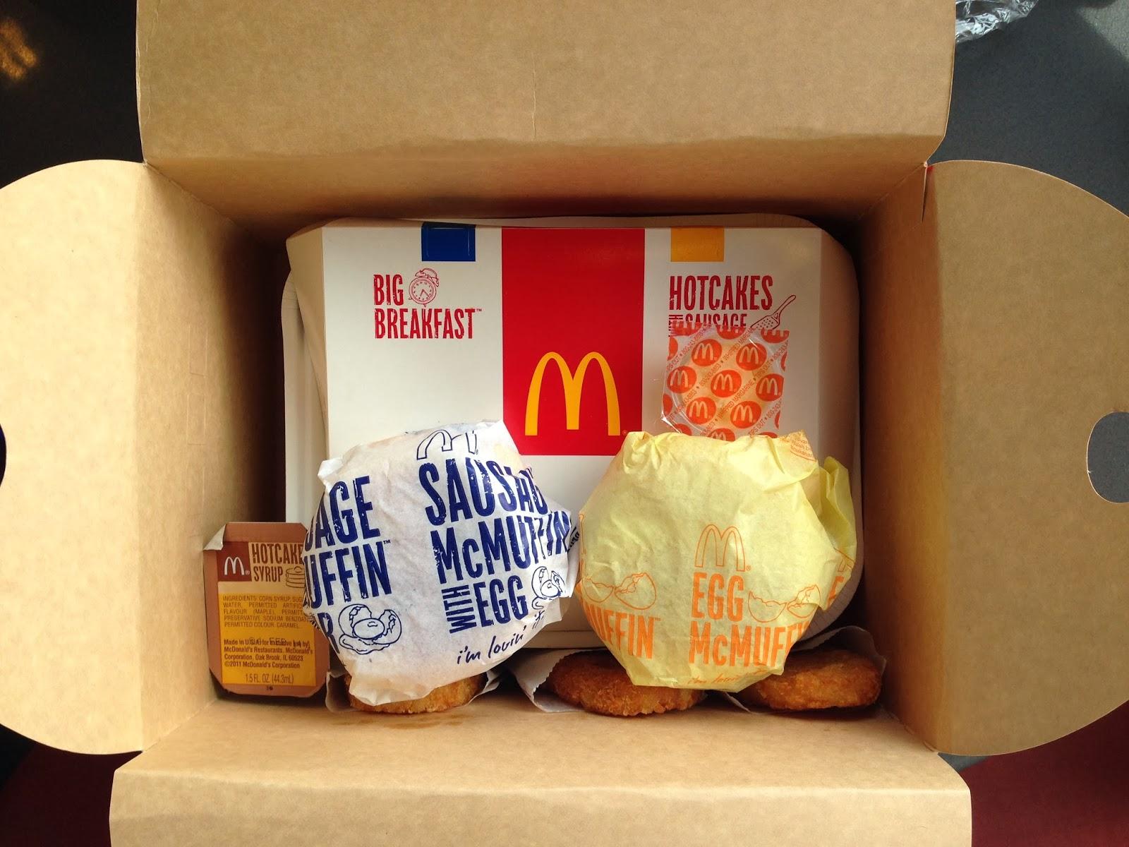 Mcdonalds Breakfast Family Pack