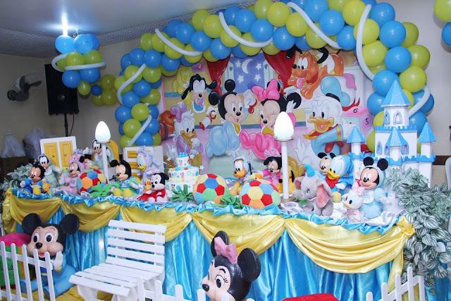 Tema de festa infantil - Baby Disney aniversário na Barra RJ