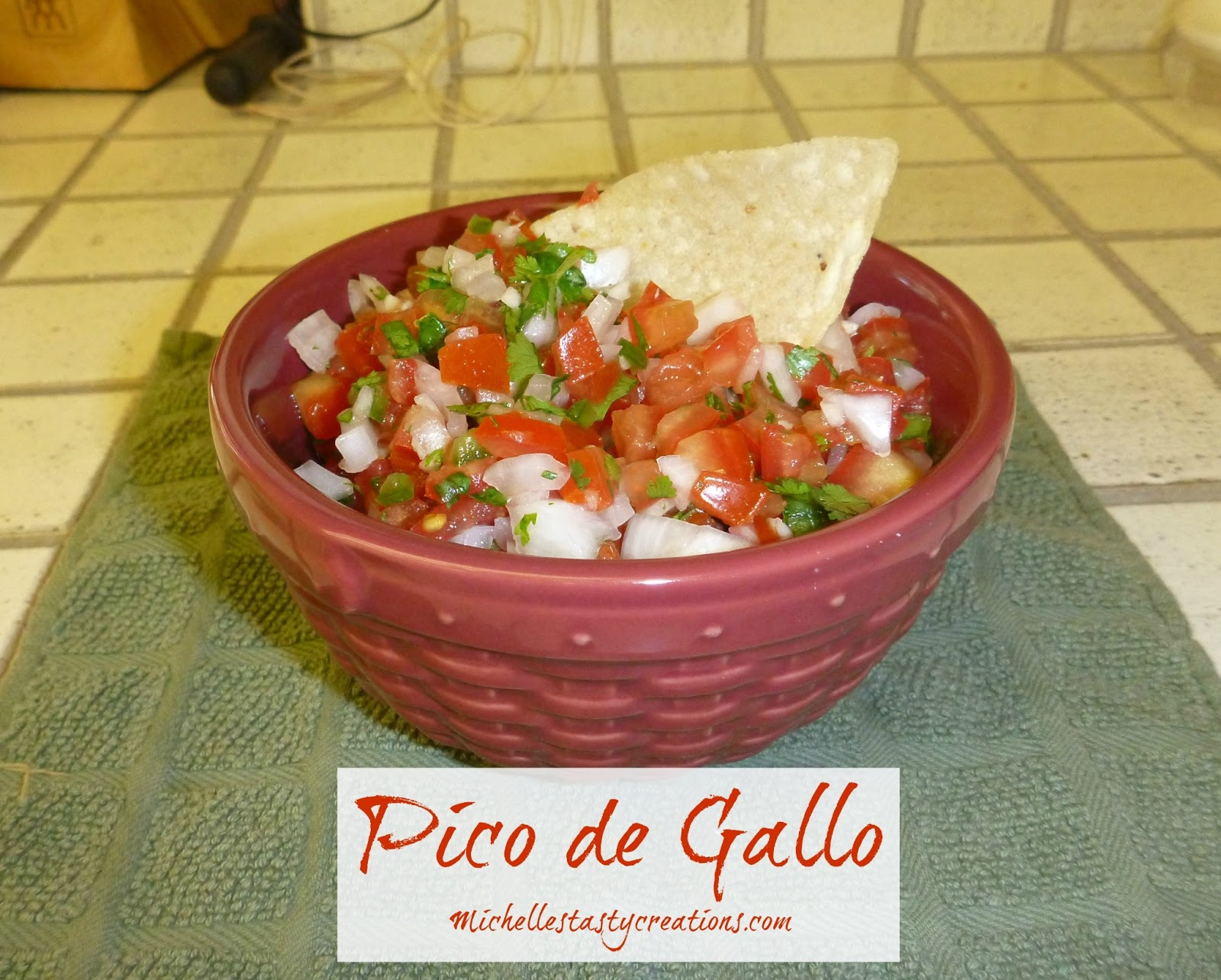 Every time I make Mexican food my son asks for Pico de Gallo.