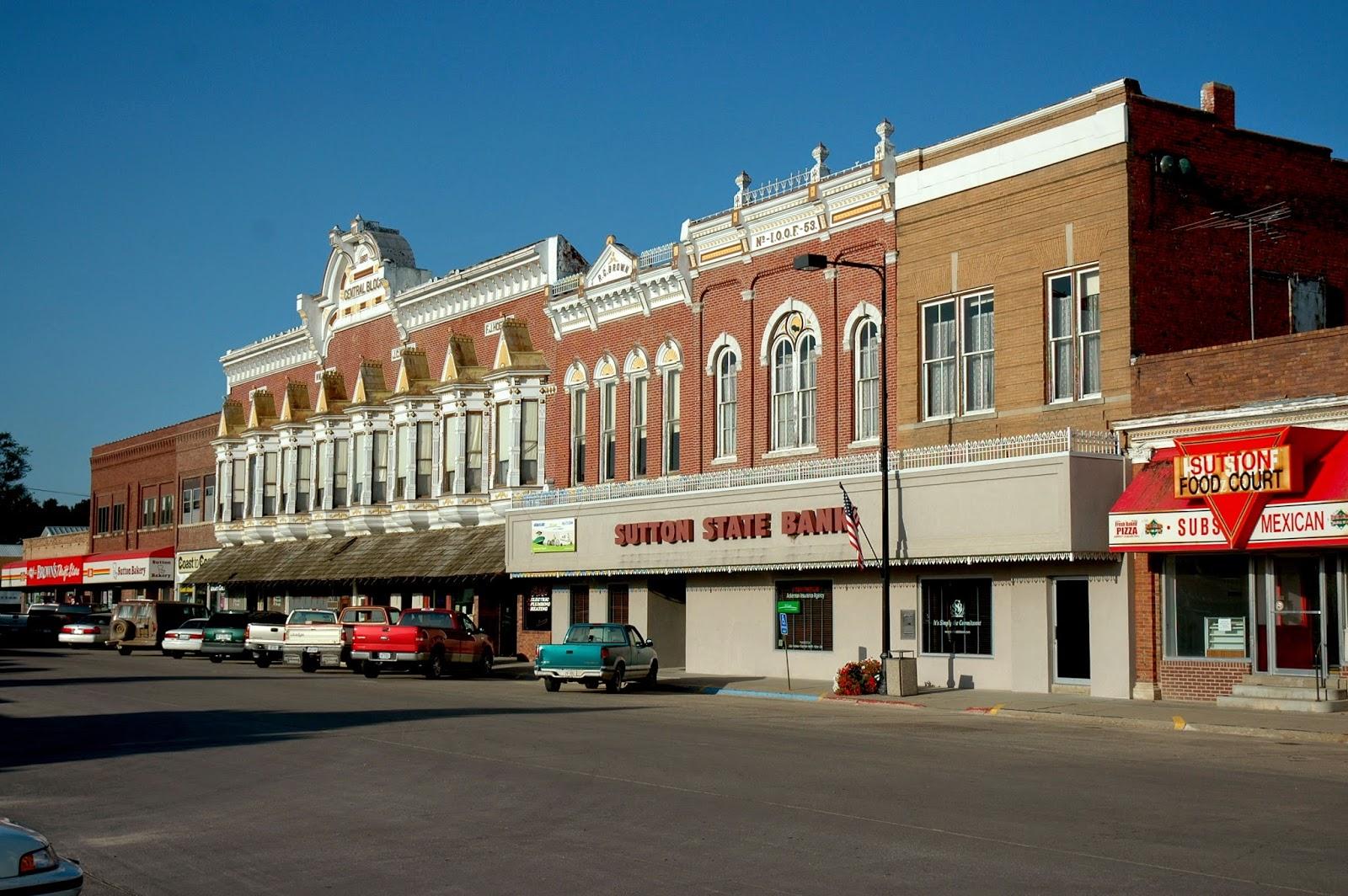 Sutton nebraska museum the future of downtown sutton for The sutton