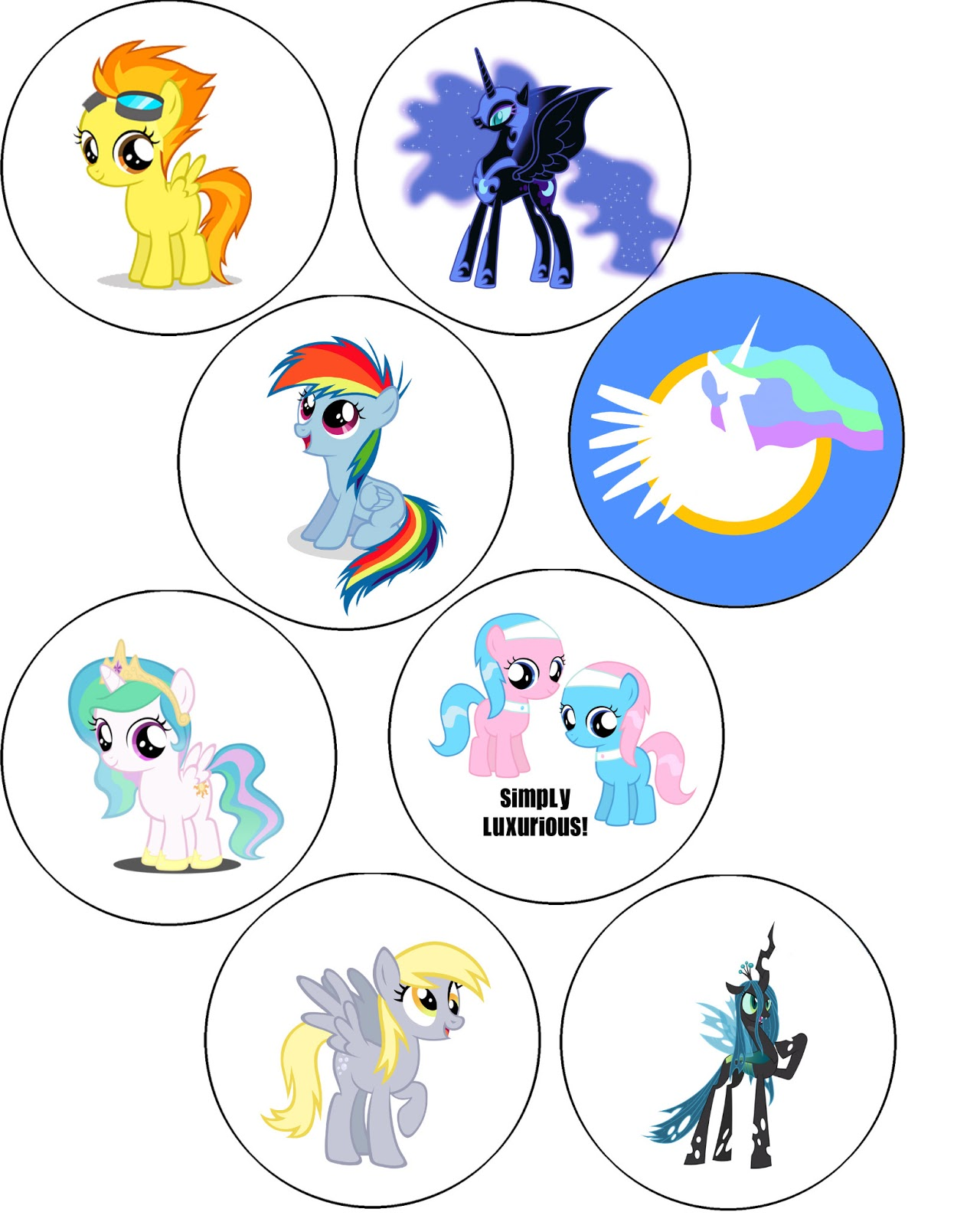 My little pony coloring pages nightmare moon - My Little Pony G4 Coloring Pages My Little Pony Friendship Is Magic Coloring Pages Princess