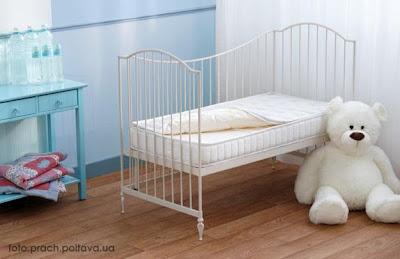 Односпальная детская кровать: модель Flocon от фабрики Simmons.
