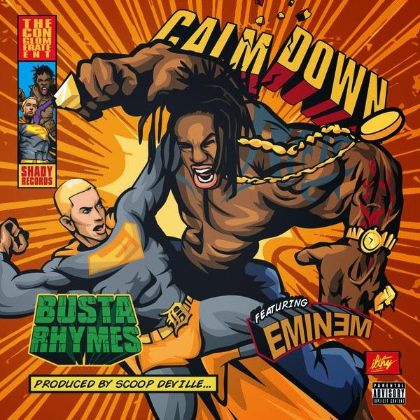 Busta Rhymes - Calm Down (feat. Eminem) - Single Cover