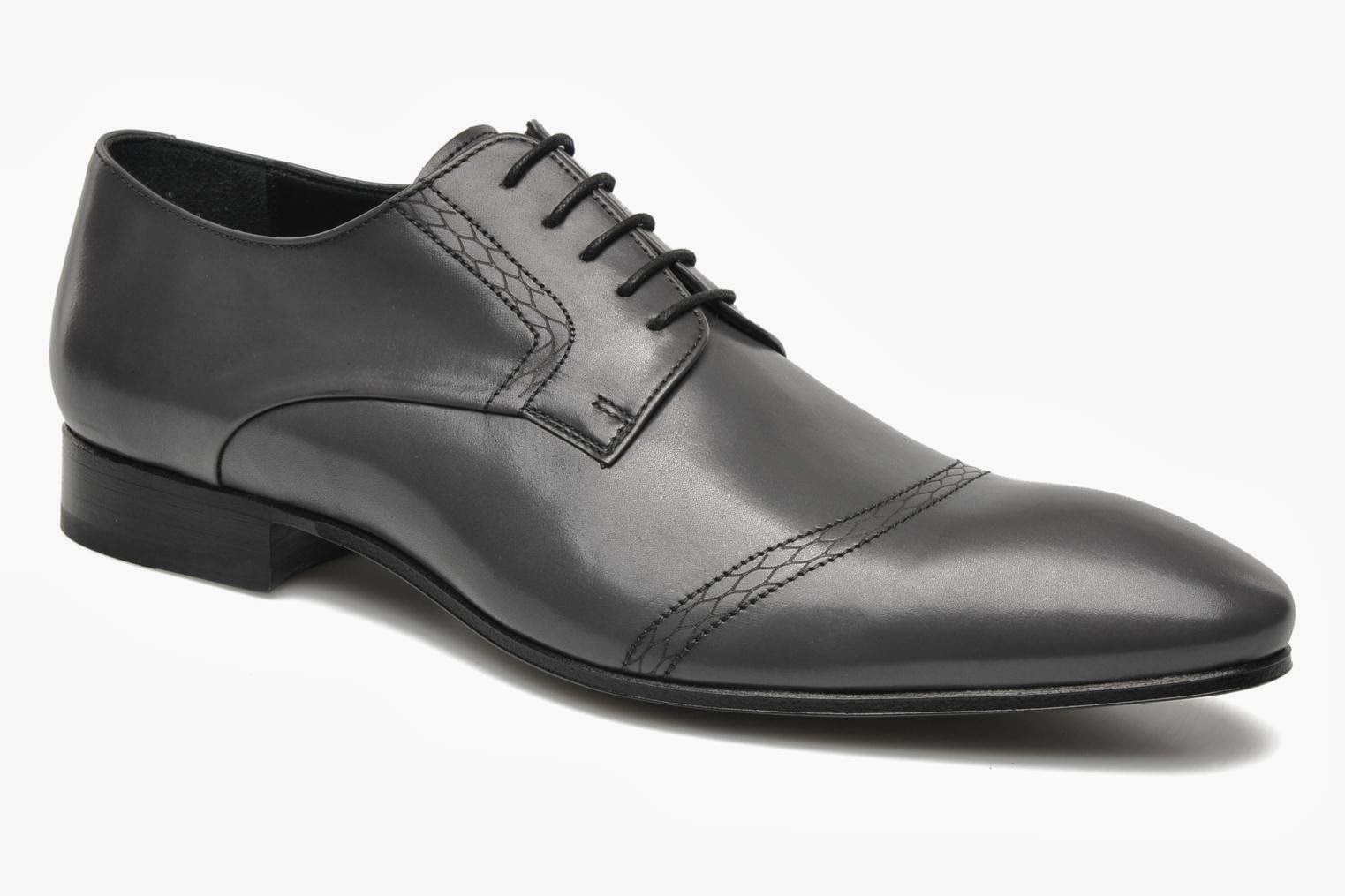 Kenzo grey lace up formal shoes