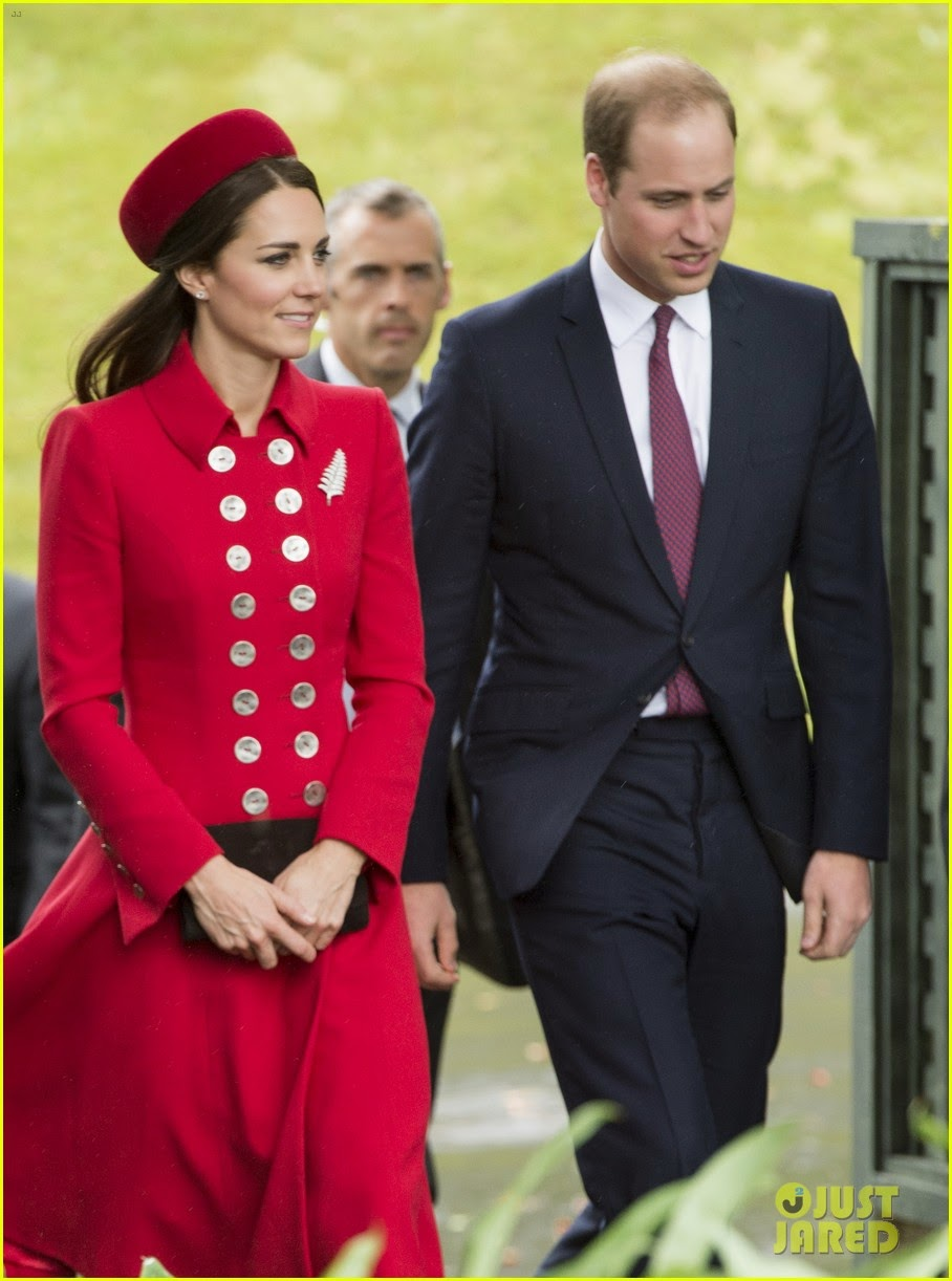 William and kate in new zealand opinion