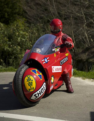 Motocicleta Akira Réplica Funcional