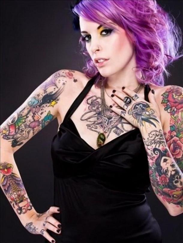 Gallery girl tattoos design