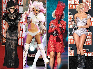 lady gaga vma pictures