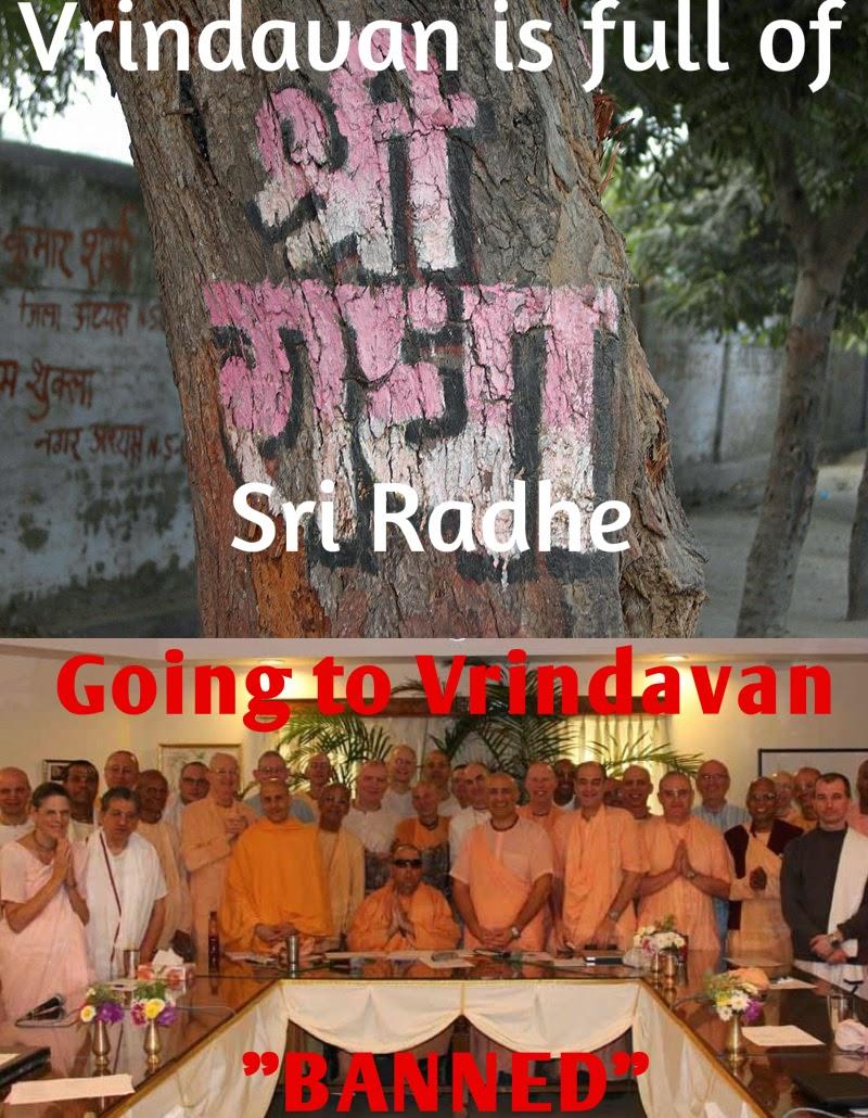 ISKCON GBC banned Chanting Radhe Memes