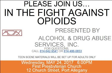 5-24 Fight Against Opioids Presentation
