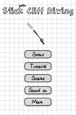 Stickman Cliff Diving Free App Game By Heiko Hufnagl