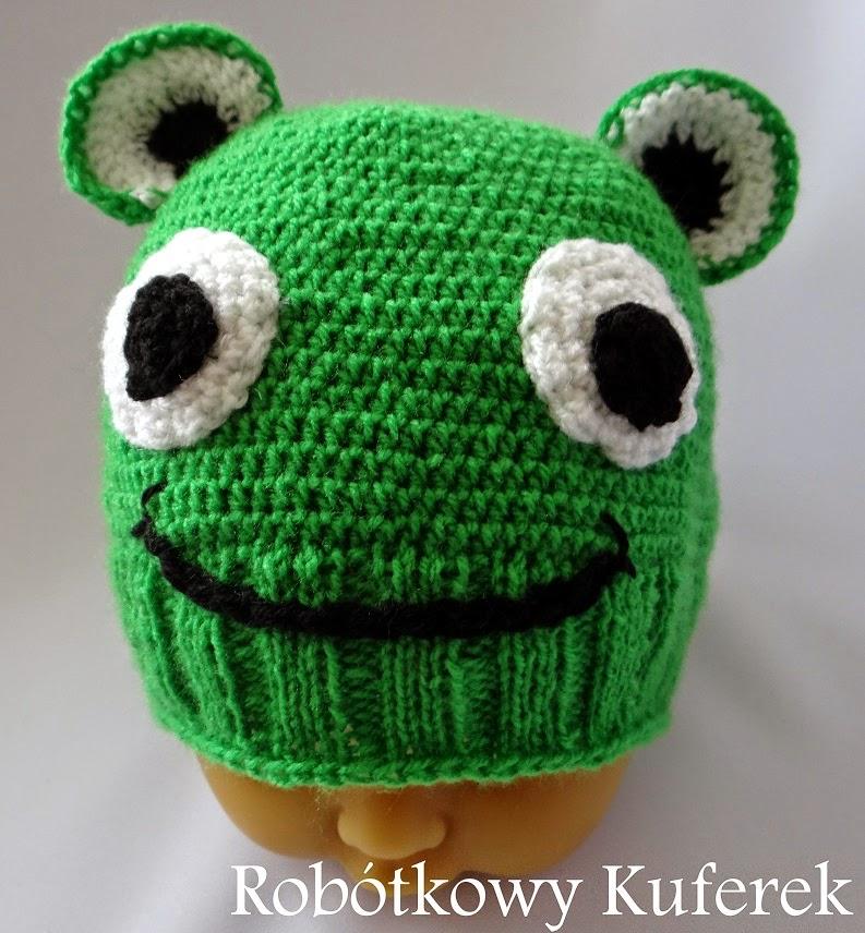 czapka żabka