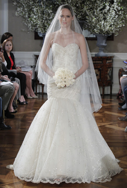 2013 lace wedding dresses Oscar de la Renta