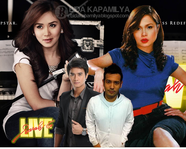 Judy Ann Santos, JM de Guzman and John Prats on Sarah G Live this July 8