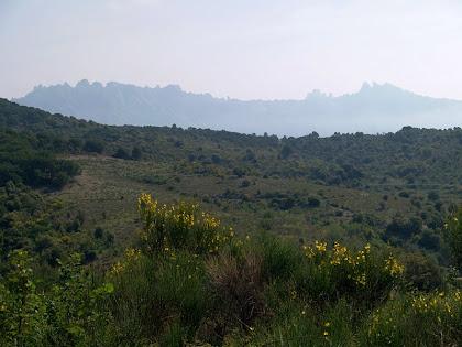 Panoràmica de Montserrat