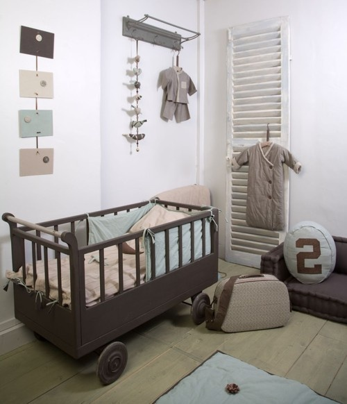 babykamer taupe mint ~ lactate for ., Deco ideeën