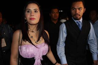 Manny Pacquiao Wife Jinkee Pacquiao 2013