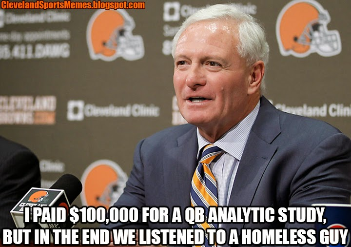 Jimmy Haslam announces Johhny Manziel Football Memes