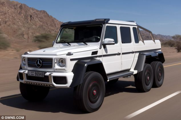 G wagon 6x6 autos post for Mercedes benz g wagon 6x6