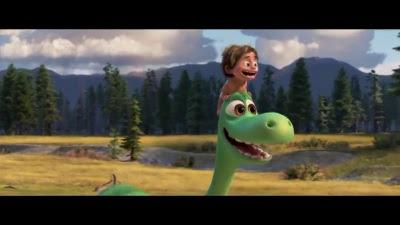 The Good Dinosaur (Movie) - Teaser Trailer 2 (Spanish Narrator and Info Text) - Screenshot