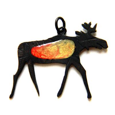 купить кулон лось украшения звериный стиль животные глюкоморье