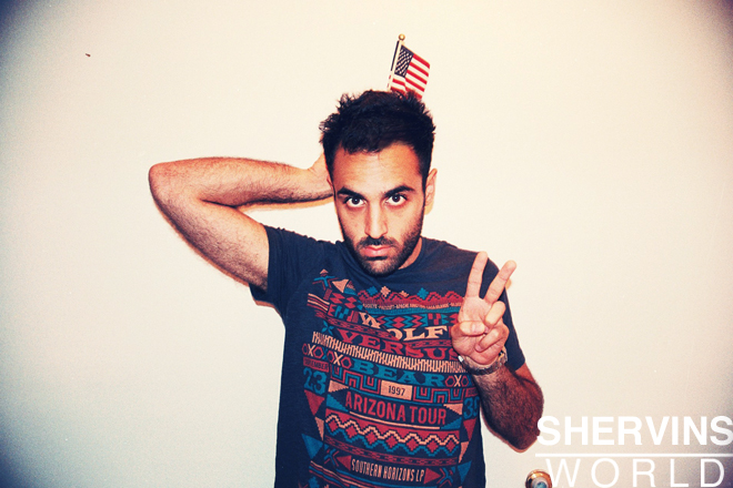 Shervin Nassi, Shervins world, shervins cafe is opening
